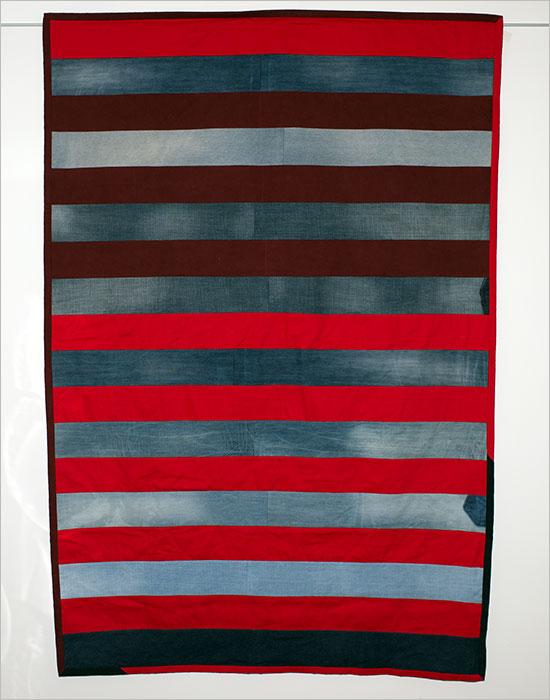 modern quilt geesbend inspired by Daniela Witt