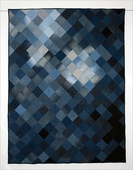 contemporary quilt by Daniela Witt